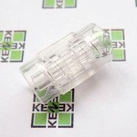 B.Braun Combifix Адаптер внутренняя резьба с обеих сторон (m/m), прозрачный, Luer Lock