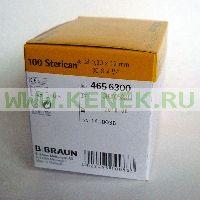 B.Braun Sterican Игла одноразовая инъекционная стерильная 30G (0,3 x 12 мм) [100шт/уп]