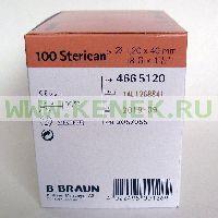 B.Braun Sterican Игла одноразовая инъекционная стерильная 18G (1.2 x 40 мм), короткий срез [100шт/уп]