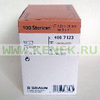 B.Braun Sterican Игла одноразовая инъекционная стерильная 18G (1.2 x 50 мм), короткий срез [100шт/уп]