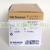 B.Braun Sterican Игла одноразовая инъекционная стерильная 19G (1.1 x 30 мм) [100шт/уп]
