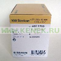 B.Braun Sterican Игла одноразовая инъекционная стерильная 19G (1.1 x 40 мм) [100шт/уп]