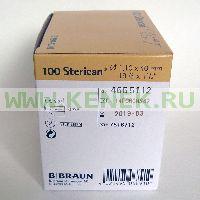 B.Braun Sterican Игла одноразовая инъекционная стерильная 19G (1.1 x 40 мм), короткий срез [100шт/уп]