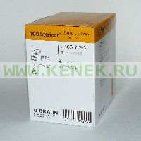 B.Braun Sterican Игла одноразовая инъекционная стерильная 20G (0,9 x 50 мм), короткий срез [100шт/уп]