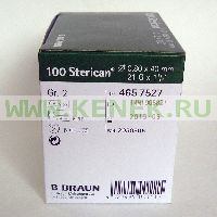 B.Braun Sterican Игла одноразовая инъекционная стерильная 21G (0,8 x 40 мм) [100шт/уп]