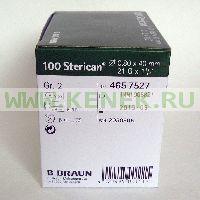 Б.Браун Стерикан Игла 21G (0,8 x 40 мм)