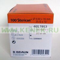 Б.Браун Стерикан Игла 25G (0,50 x 16 мм)