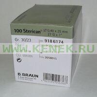 Б.Браун Стерикан Игла 27G (0,40 x 25 мм)