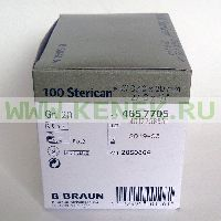 B.Braun Sterican Игла одноразовая инъекционная стерильная 27G (0,40 x 20 мм) [100шт/уп]