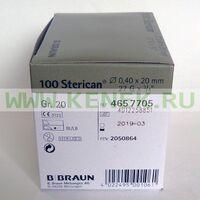 Б.Браун Стерикан Игла 27G (0,40 x 20 мм)