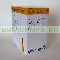 B.Braun Sterican Игла одноразовая инъекционная стерильная 20G (0,9 x 70 мм) [100шт/уп]
