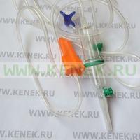 B.Braun Intrafix Safeset Система в/в, трехходовой кран Дискофикс С