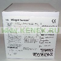 B.Braun Surecan Игла-бабочка 20G (0,9 х 25 мм), без Y-коннектора