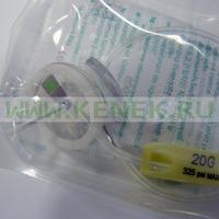 B.Braun Surecan Safety II Игла-бабочка 20G (0,9 х 15 мм), без Y-коннектора