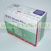 BD Micro-Fine Plus Шприц (3-комп.) 1мл U40, интегрир.игла 29G (0,33x12,7) [100шт/уп]
