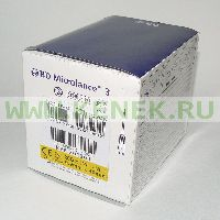 BD Microlance Игла одноразовая инъекционная стерильная 20G (0,9 x 40 мм) тонкая стенка [100шт/уп]