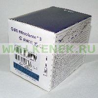 BD Microlance Игла одноразовая инъекционная стерильная 23G (0,6 x 25 мм) [100шт/уп]