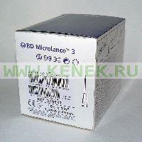 BD Microlance Игла одноразовая инъекционная стерильная 16G (1,6 x 40 мм) [100шт/уп]
