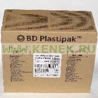 BD Plastipak Шприц (3-комп.) 1мл, туберкулин, игла 26G (0,45x10) [100шт/уп]