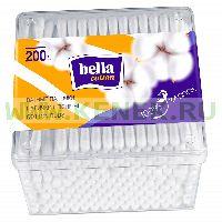 "Bella Ватные палочки ""bella cotton"", пластик.упак. №200"