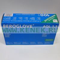 Beroglove Перчатки н/ст, латекс, гладкие, Powder, 100шт/уп