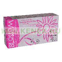 Блоссом Перчатки н/ст, нитрил, PF, текстура на пальцах, цвет розовый, 100шт/упink
