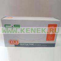 Clean+Safe №7/10 Перчатки латекс, текстура, PF, 1-крат.хлор., High Risk EL3, 50шт/уп