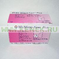 Игла BD Micro-Fine Plus для шприц-ручки 29G (0,33 x 12,7 мм) [100шт/уп]