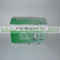 Игла BD Micro-Fine Plus для шприц-ручки 32G (0,23 x 4,0 мм) [100шт/уп]