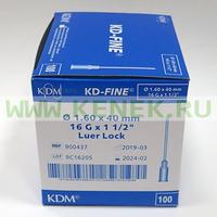 КД-Файн Игла 16G (1,6 х 40 мм)