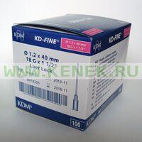 КД-Файн Игла 18G (1,2 х 40 мм)