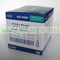 КД-Файн Игла 21G (0,8 х 40 мм)