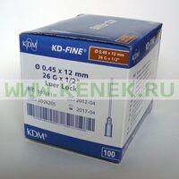 КД-Файн Игла 26G (0,45 х 12 мм)
