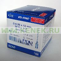 KD-Fine Игла 29G (0,33 х 12 мм)