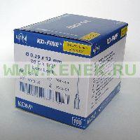 KD-Fine Игла одноразовая инъекционная стерильная 30G (0,29 х 12 мм) [100шт/уп]