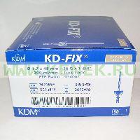 KD-Fix катетер внутривенный 16G (1,7 х 45мм), ПВХ [50шт/уп]