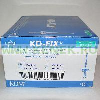 KD-Fix катетер внутривенный 18G (1,3 х 45мм), ПВХ [50шт/уп]
