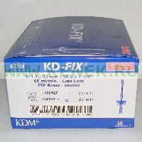 KD-Fix катетер внутривенный 20G (1,1 х 32мм), ПВХ [50шт/уп]