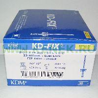 KD-Fix катетер внутривенный 24G (0,7 х 19мм), ПВХ [50шт/уп]