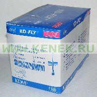 KD-Fly игла-бабочка 18G (1,2 x 19 мм) [100шт/уп]
