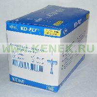 KD-Fly игла-бабочка 20G (0,9 x 19 мм) [100шт/уп]