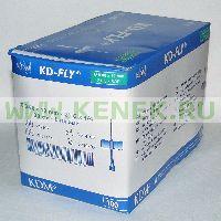 KD-Fly игла-бабочка 21G (0,8 x 19 мм) [100шт/уп]