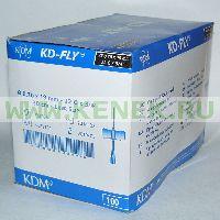 KD-Fly игла-бабочка 22G (0,7 x 19 мм) [100шт/уп]