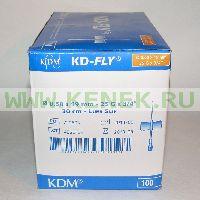 KD-Fly игла-бабочка 25G (0,5 x 19 мм) [100шт/уп]