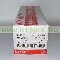KD-Ject Шприц (2-х комп.) 5мл, игла 22G (0,7х40) [100шт/уп]