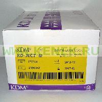 KD-Ject Шприц (3-х комп.) 30мл, без иглы, Luer Lock, светозащитный [50шт/уп]
