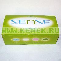 Sense Маска 3-слойная, на резинках (Россия) [50шт/уп]