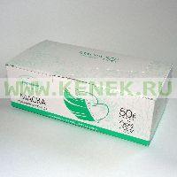 Берегиня Маска 3-слойная, на резинках, голубая стандарт КИТ (Россия) [50шт/уп]