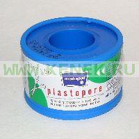 МАТОРАТ PLASTOPORE Гипоалл.фиксирующий пластырь из нетканого материала 5м. х 2,5см. катушка и/у