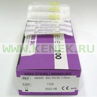 Мезо-Релле Игла для мезотерапии 30G (0,3 х 25 мм)
